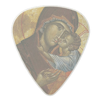 Icon known as the 'Virgin of Tsar Dushan', c.1350 Acetal Guitar Pick