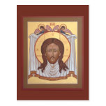 """Icon """"Not Made With Hands"""" Postcard"""