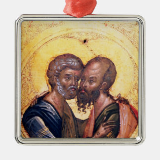 Icon of SS. Peter and Paul Christmas Ornament