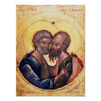 Icon of SS. Peter and Paul Poster