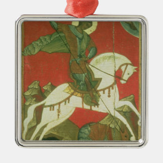 Icon of St. George and the Dragon Christmas Ornament