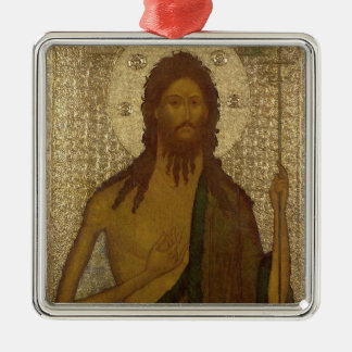 Icon of St. John the Forerunner Christmas Ornament