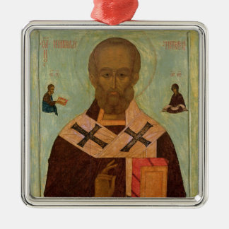 Icon of St. Nicholas Christmas Ornament