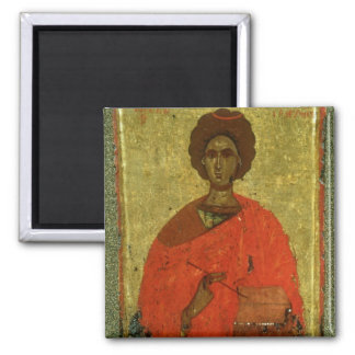 Icon of St. Pantaleon of Nicomedia Magnet