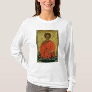 Icon of St. Pantaleon of Nicomedia T-Shirt