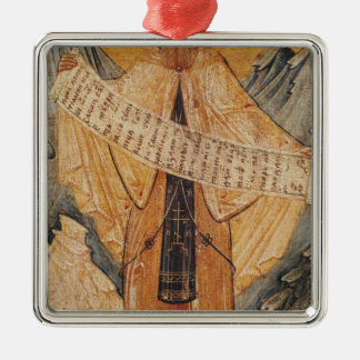 Icon of St. Sabas of Jerusalem, 1572 Christmas Ornament
