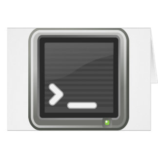 Icon of terminal cards