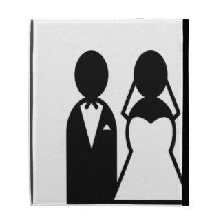 Icon Wedding Couple iPad Case