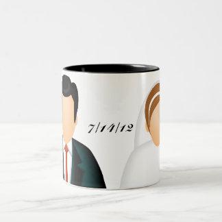 Icon Wedding Two-Tone Mug