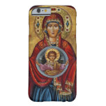 Iconic 15th Century Mary with Christ Child Barely There iPhone 6 Case
