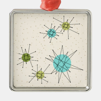 Iconic Atomic Starbursts Christmas Ornament