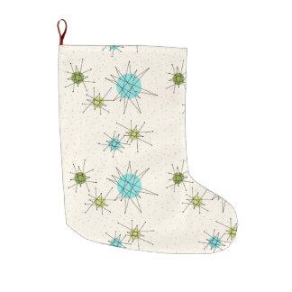 Iconic Atomic Starbursts Christmas Stocking
