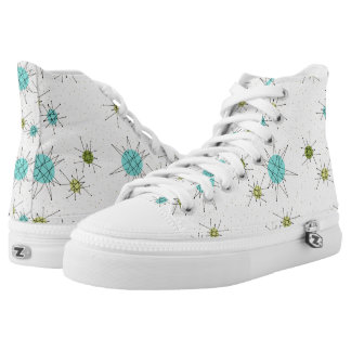 Iconic Atomic Starbursts High Top Shoes