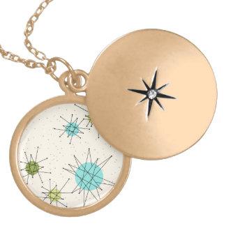 Iconic Atomic Starbursts Necklace