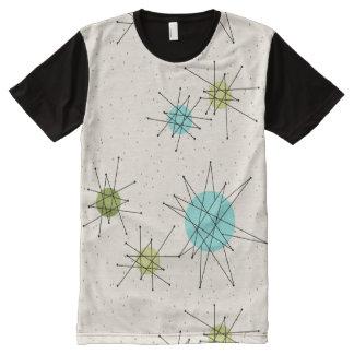 Iconic Atomic Starbursts Panel T-Shirt