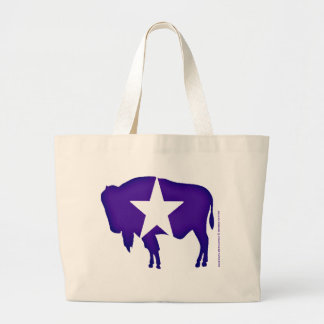 Iconic Bison Large Tote Bag