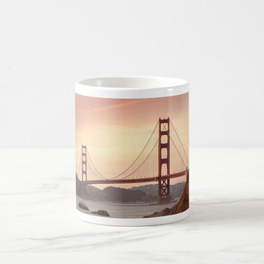 Iconic Bridge Golden Gate San Francisco California Coffee
