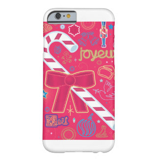 Iconic Candy Cane Barely There iPhone 6 Case