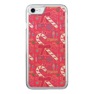 Iconic Candy Cane Carved iPhone 7 Case