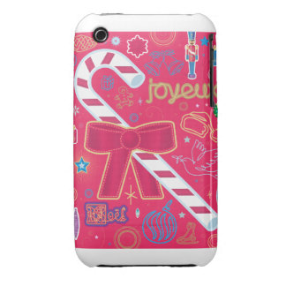 Iconic Candy Cane Case-Mate iPhone 3 Case