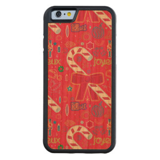 Iconic Candy Cane Cherry iPhone 6 Bumper Case