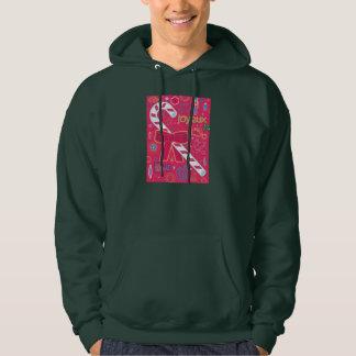 Iconic Candy Cane Hooded Sweatshirt