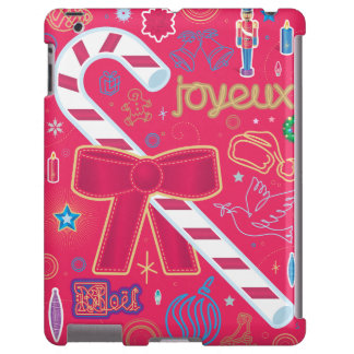 Iconic Candy Cane iPad Case