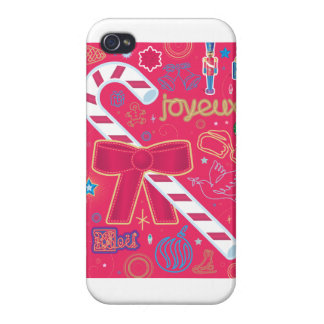Iconic Candy Cane iPhone 4/4S Case