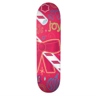 Iconic Candy Cane Skateboard Deck