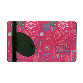 Iconic Christmas iPad 2/3/4 Case with Kickstand Cases For iPad