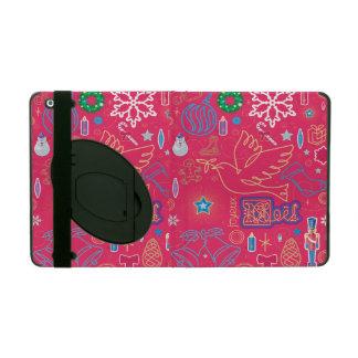 Iconic Christmas iPad 2/3/4 Case with Kickstand iPad Case