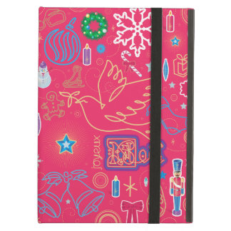 Iconic Christmas iPad Air Case with No Kickstand