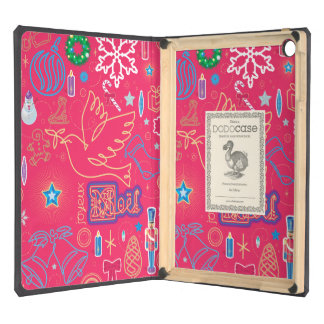 Iconic Christmas iPad Air DODOcase, Black Cover iPad Air Cases
