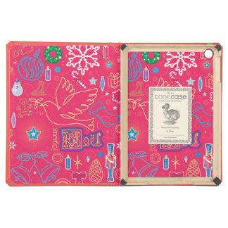 Iconic Christmas iPad Air DODOcase, Coral Cover Case For iPad Air