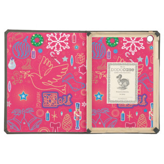 Iconic Christmas iPad Air DODOcase, Granite Cover Cover For iPad Air