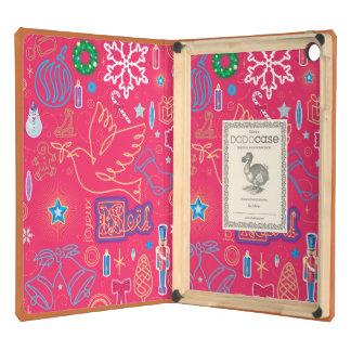 Iconic Christmas iPad Air DODOcase, Orange Cover iPad Air Case
