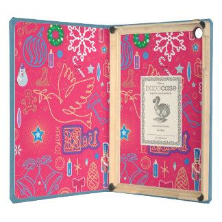 Iconic Christmas iPad Air DODOcase, Sky Blue Cover iPad Air Cases