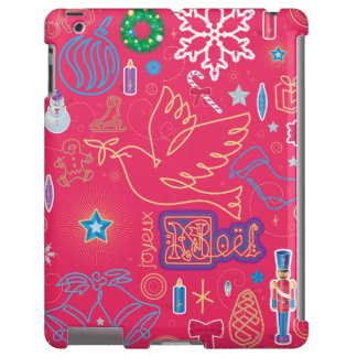Iconic Christmas iPad, Barely There iPad Case