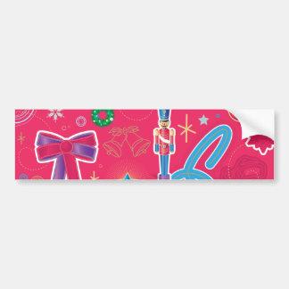 Iconic Christmas Ornament Bumper Sticker