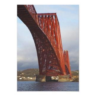 Iconic Forth Rail Bridge Card