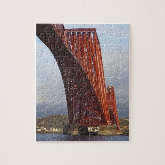 Iconic Forth Rail Bridge Jigsaw Puzzle