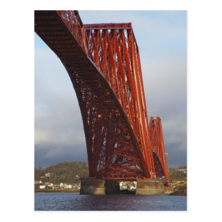 Iconic Forth Rail Bridge Postcard