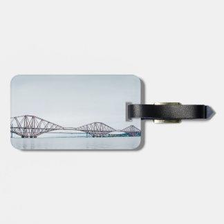 Iconic Forth Rail Bridge - Scotland Bag Tag