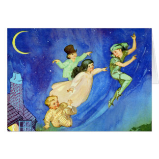 ICONIC IMAGE FROM PETER PAN GREETING CARDS