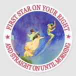 ICONIC IMAGE FROM PETER PAN ROUND STICKERS