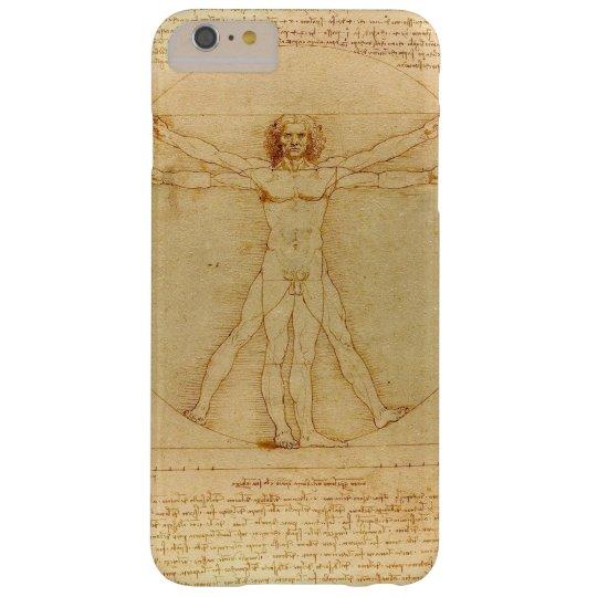 Iconic Leonardo da Vinci Vetruvian Man Barely There
