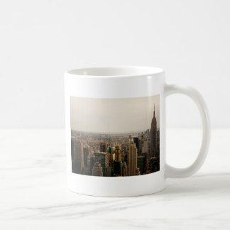 Iconic New York Cityscape Basic White Mug