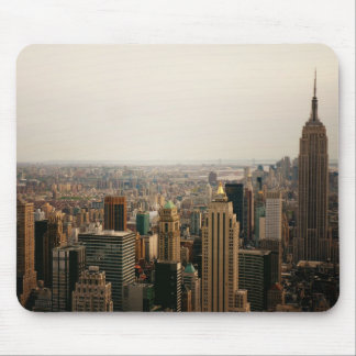 Iconic New York Cityscape Mouse Pad