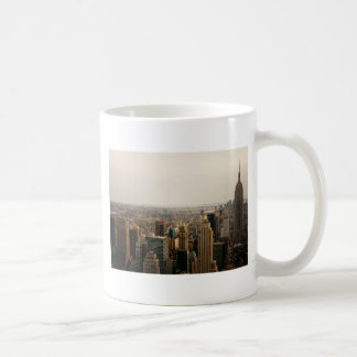 Iconic New York Cityscape Classic White Coffee Mug