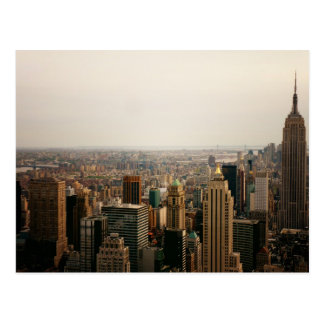 Iconic New York Cityscape Postcard